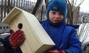 Скворечники для птиц своими руками: история одной семьи