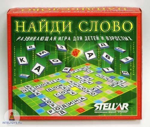 Настольная игра «Найди слово», STELLAR (Стеллар)
