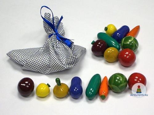 Конструктор «Волшебный мешочек — Овощи»