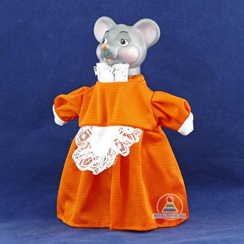 Игрушка-перчатка для кукольного театра «Мышка-Норушка», Весна