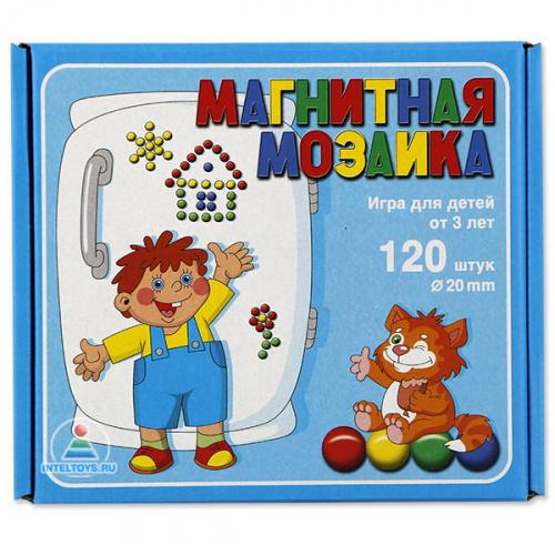 Мозаика на магнитах, 20 мм, 120 деталей (Десятое королевство)