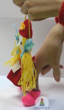 Набор кукол для театра «Красная шапочка», Наивный мир
