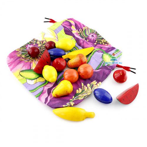 Игра «Волшебный мешочек» Фрукты-ягоды