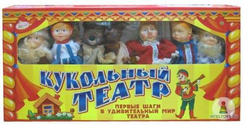 Домашний кукольный театр 7 персонажей (подарочный набор №2)