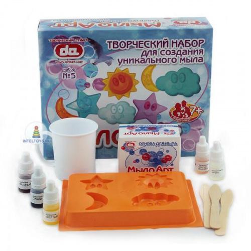 Мыло своими руками, набор для творчества «Небо», Дети Арт