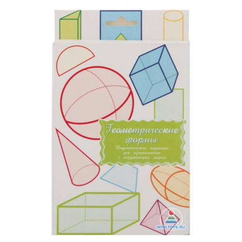 Дидактические карточки «Геометрические формы»