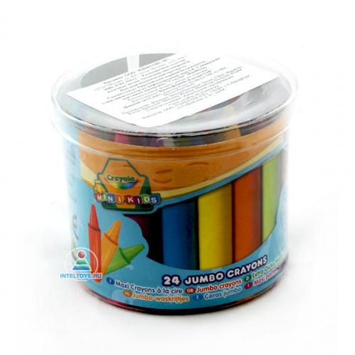 Восковые мелки Crayola (Крайола) 24 цвета
