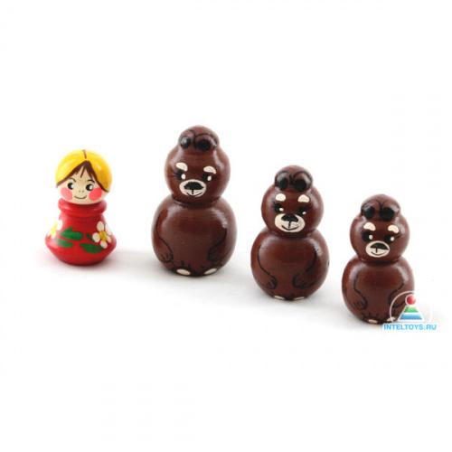Детский пальчиковый театр «Три медведя»