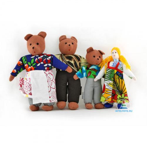 Шагающий театр с домиком «Три медведя», Наивный мир
