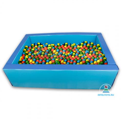 Сухой бассейн прямоугольный разборный (трансформируется в маты) 101х151х40 см