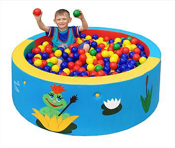 Сухой бассейн круглый 160х50 см