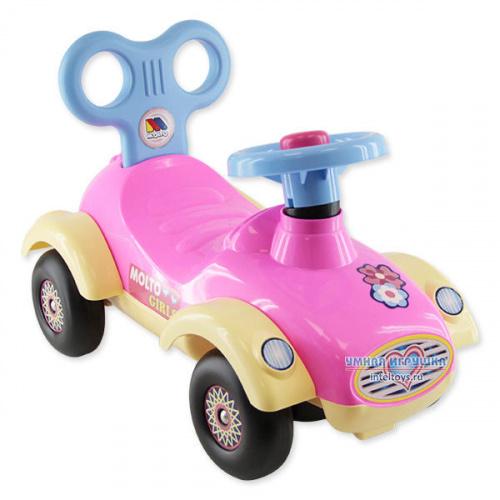 Каталка-автомобиль для девочек «Толокар Сабрина»