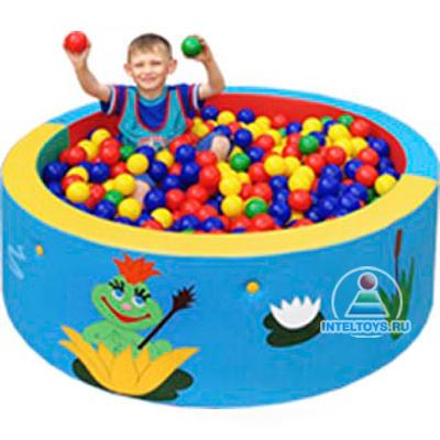 Сухой бассейн круглый 130х40 см