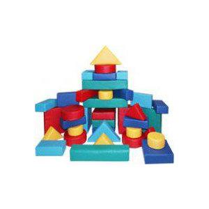 Мягкий игровой набор «Конструктор» (37 предметов)