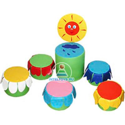 Набор детской игровой мебели «Полянка»