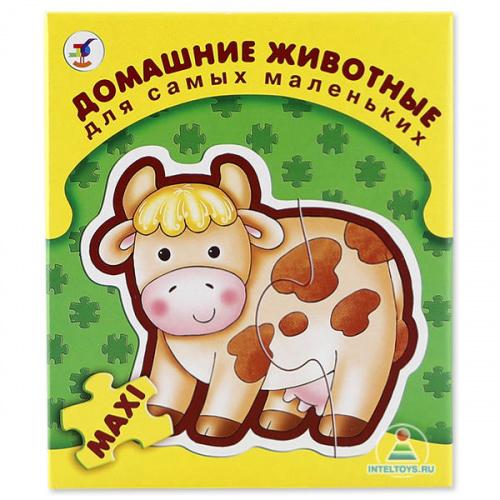 Макси-пазлы для самых маленьких «Домашние животные»