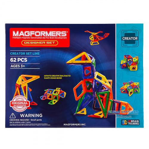 Конструктор Magformers (Магформерс) Designer Set, 62 детали