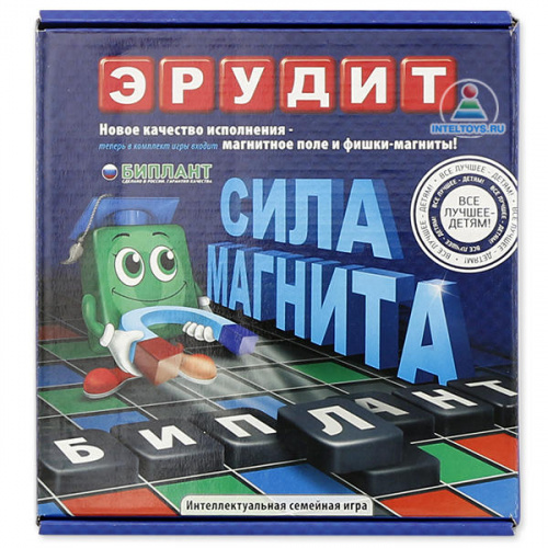 Настольная игра «Магнитный Эрудит» (Биплант)