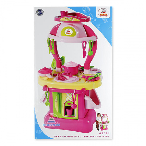 Детская игровая кухня «Изящная» №1