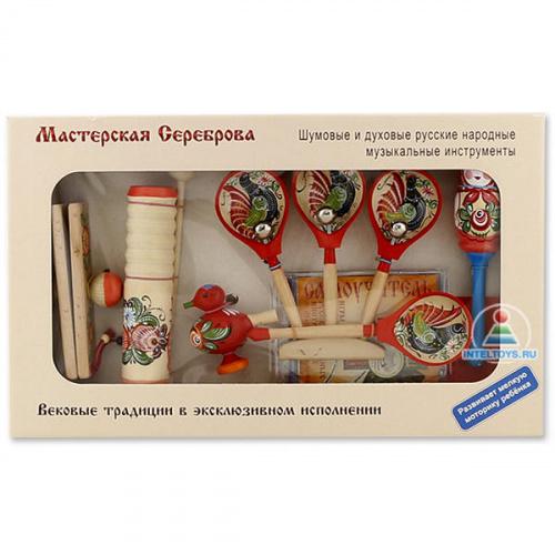 Детские русские народные инструменты «Матрешка»
