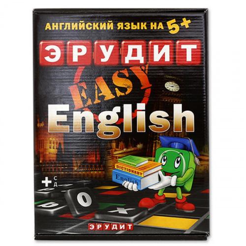 Настольная игра «Эрудит Easy English» (Биплант)