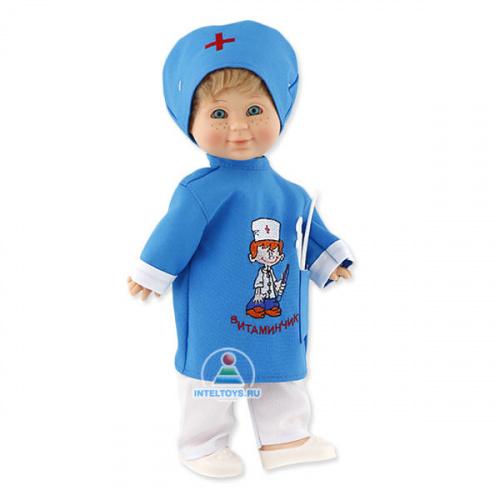 Кукла Весна «Митя Доктор», озвученная