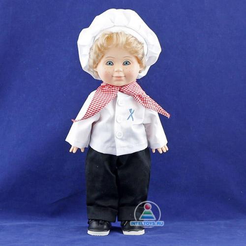 Кукла Весна «Митя Кулинар», озвученная