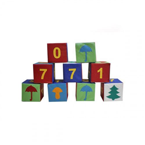 Детский мягкий игровой модуль «Учимся считать»