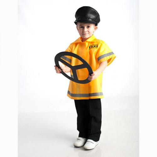 Детский костюм для сюжетно-ролевых игр «Таксист» (куртка+фуражка)