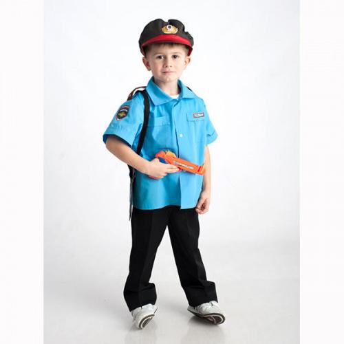 Детский костюм для сюжетно-ролевых игр «Полицейский» (3 предмета)