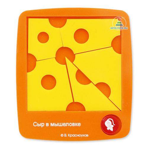 Сувенир-головоломка В. Красноухова «Сыр в мышеловке»
