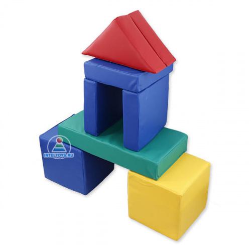 Напольный конструктор из мягких модулей для детей, 14 элементов