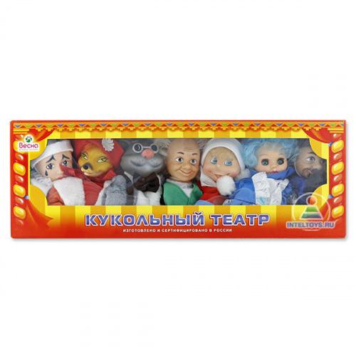 Кукольный театр по сказкам №1 «Буратино» (7 персонажей)