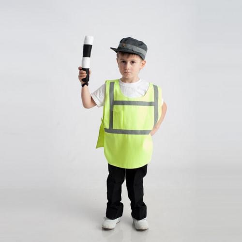 Детский костюм для сюжетно-ролевых игр «Инспектор ДПС» (3 предмета)