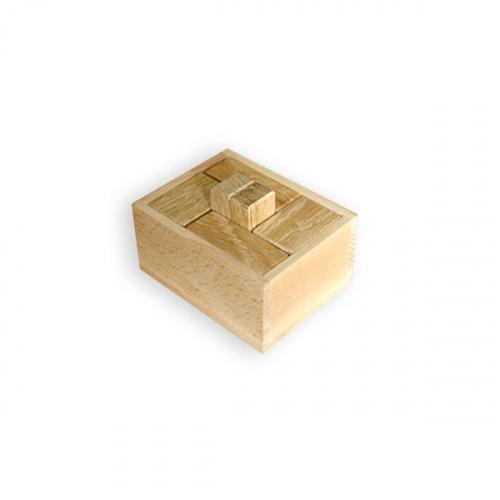 Головоломка деревянная «Недетские кубики» малые