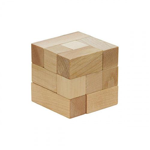 Головоломка деревянная «Кубики Сома»