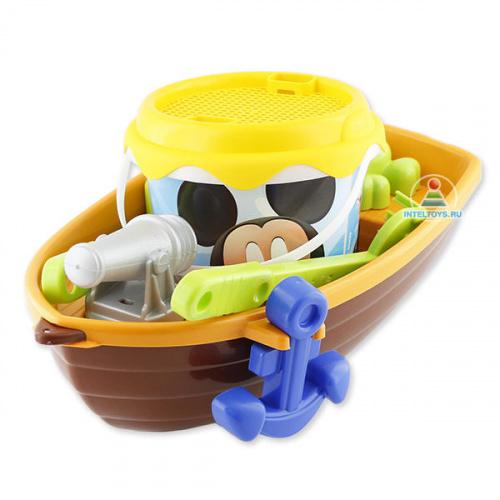 Игровой набор для песка «Лодка» Mickey, Smoby (Смоби)