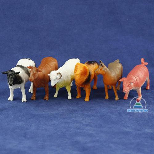 Набор фигурок «Домашние животные» Играем вместе (6 штук)