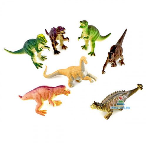 Набор фигурок «Динозавры» Играем вместе (7 штук)