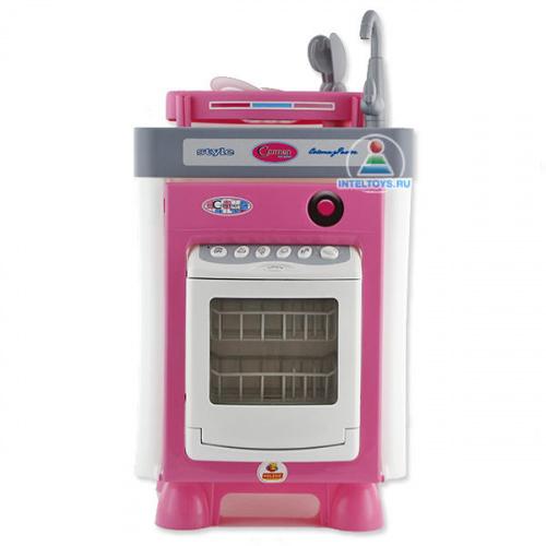 Детская посудомоечная машина, игровой комплекс Carmen №1 в коробке (Полесье)