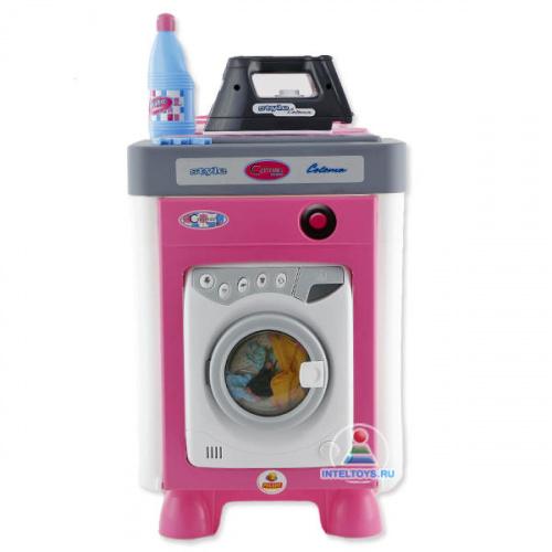 Детская стиральная машина, игровой комплекс Carmen №2 в коробке (Полесье)