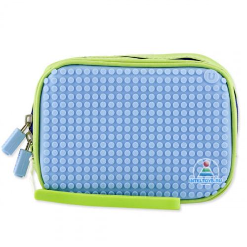 Ручная сумка Upixel Canvas Handbag (зеленый, светло-голубой)