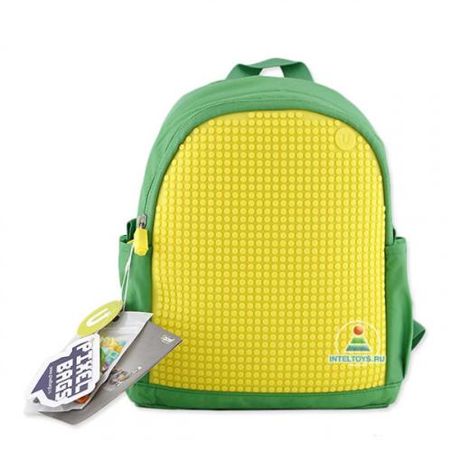 Мини-рюкзак с пикселями MINI Backpack (желто-зеленый), Upixel (Юпиксель)
