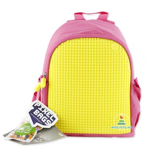 Мини-рюкзак Upixel (Юпиксель) «MINI Backpack» (розово-желтый)