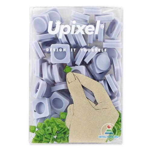 Маленькие пиксельные фишки облачно-синие, Upixel (Юпиксель)