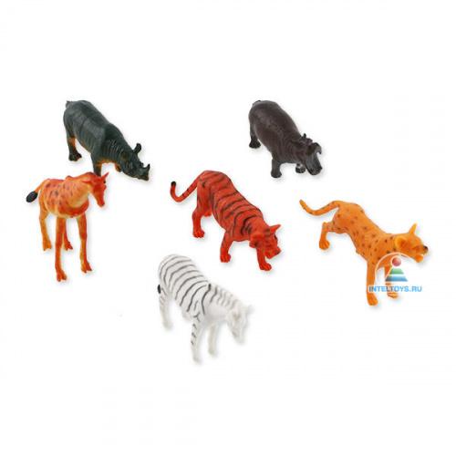 Игрушки для детей «Дикие животные», Играем вместе (6 штук)