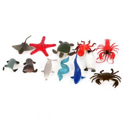 Набор игрушек «Морские животные», Играем вместе (12 штук)