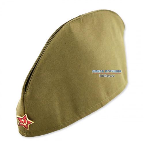 Военная пилотка для детей с красной звездочкой, Вини