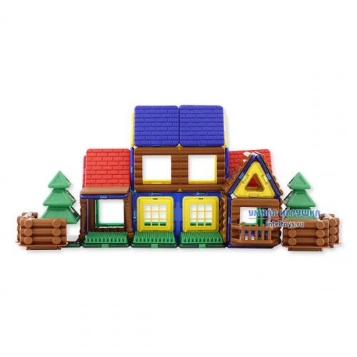 Конструктор Magformers «House Log», 87 деталей (Магформерс)