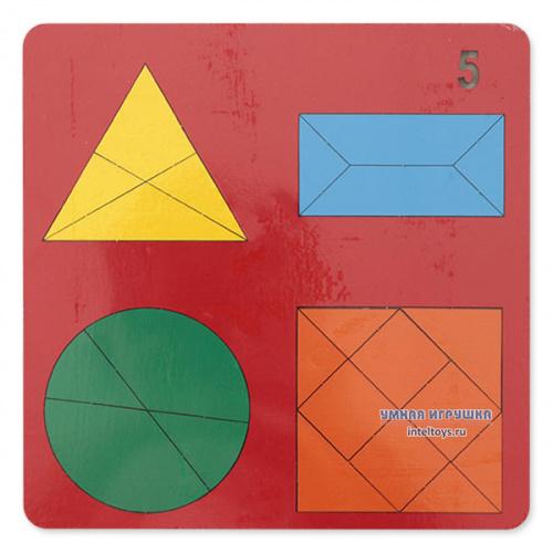Игра «Веселая геометрия», головоломка №5, Оксва